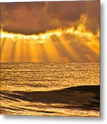 God's Eyelashes Metal Print