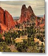 Gods Garden In Colorado Metal Print