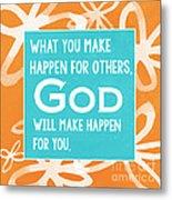 God's Gift Metal Print