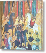 God's Horse Masters-the Deposition Metal Print