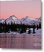 God's Light Painting At Molas Lake Metal Print