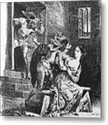 Goethe: Doctor Faust Metal Print