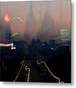 Going Downtown Metal Print