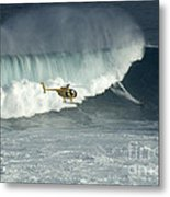 Going Left At Jaws Metal Print