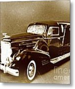 Going Out In Style Metal Print