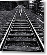 Going The Distance Metal Print