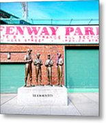 Going To The Park Metal Print