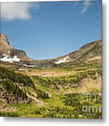 Going To The Sun Road From Highline Trail Metal Print