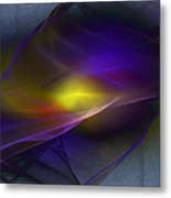 Going With The Flow Metal Print by Elizabeth S Zulauf