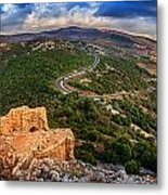 Golan Heights Metal Print
