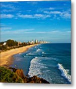 Gold Coast North Metal Print