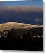 Gold Mountain Metal Print