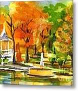 Golden Autumn Day 2 Metal Print
