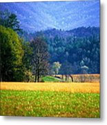 Golden Day Metal Print