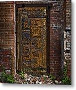Golden Door Metal Print
