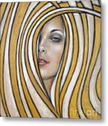 Golden Dream 060809 Metal Print by Selena Boron