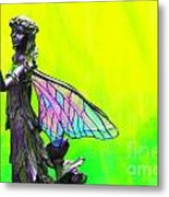 Golden Fairy Metal Print