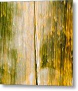 Golden Falls  Metal Print