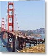 Golden Gate 8055 Metal Print