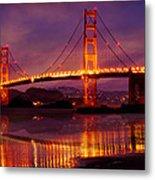 Golden Gate At Bakers Beach Metal Print