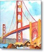 Golden Gate Bridge 3 Metal Print