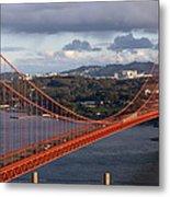 Golden Gate Bridge Overlook Metal Print