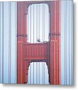 Golden Gate Bridge San Francisco California Metal Print