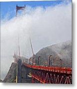 Golden Gate Bridge San Francisco California Metal Print