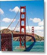 Golden Gate Bridge Metal Print by Sarit Sotangkur