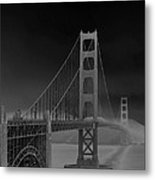Golden Gate Bridge To Sausalito Metal Print
