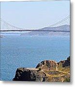 Golden Gate Panorama 8027 8030 Metal Print