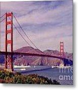 Golden Gate San Francisco Metal Print