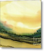 Golden Glow In The Afternoon Metal Print