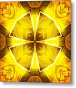 Golden Harmony - 4 Metal Print