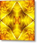 Golden Harmony  Metal Print