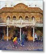 Golden Horseshoe Frontierland Disneyland Photo Art 02 Metal Print