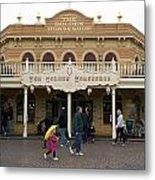 Golden Horseshoe Frontierland Disneyland Metal Print