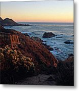 Golden Hour On Garrapata Metal Print