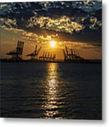 Golden Hour Metal Print by Wayne Gill