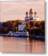 Golden Hour. Yaroslavl. Russia Metal Print