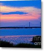 Golden Isles Bridge Metal Print