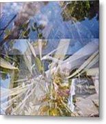 Golden Mean Holga Garden 1 Metal Print by Carolina Liechtenstein
