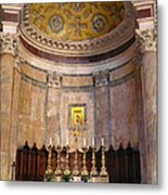 Golden Pantheon Altar Metal Print