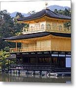 Golden Pavilion Kyoto Metal Print