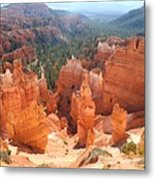 Golden Rocks Of Bryce Canyon  Metal Print