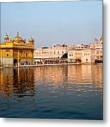 Golden Temple And Akal Takht Metal Print