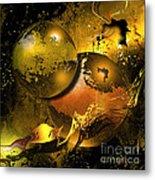 Golden Things Metal Print by Franziskus Pfleghart