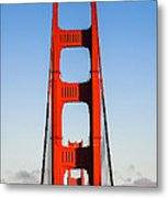 Golden Towers Metal Print