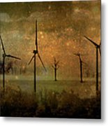 The Golden Winds Blew The Stars Metal Print