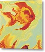 Goldfish 1 Metal Print